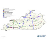 Kentucky's Major Highways & Cities