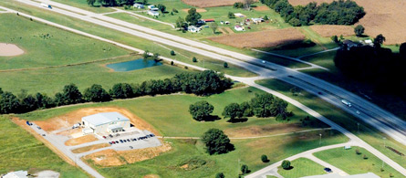 Trigg County Business Park Access