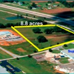 8.8 acres available for sale